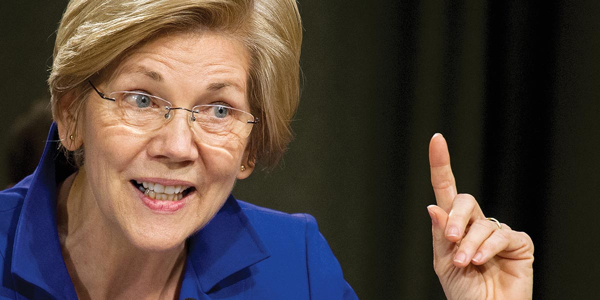 "Elizabeth Warren's anti-entrepreneur ""You didn't build that on your own"" Speech"