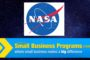 NASA can once again use Small Businesses to lead the way