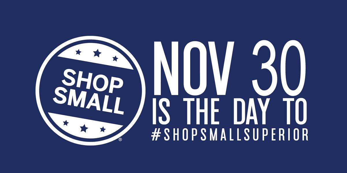 Don't Miss Small Business Saturday!
